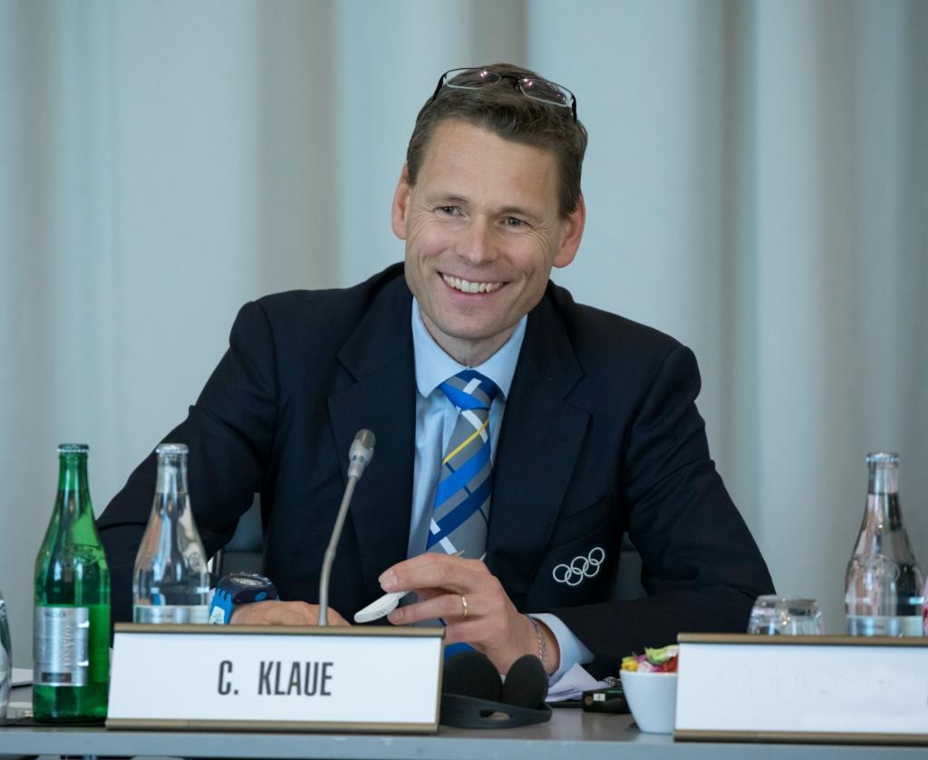 Christian Klaue ist IOC-Kommunikationschef.