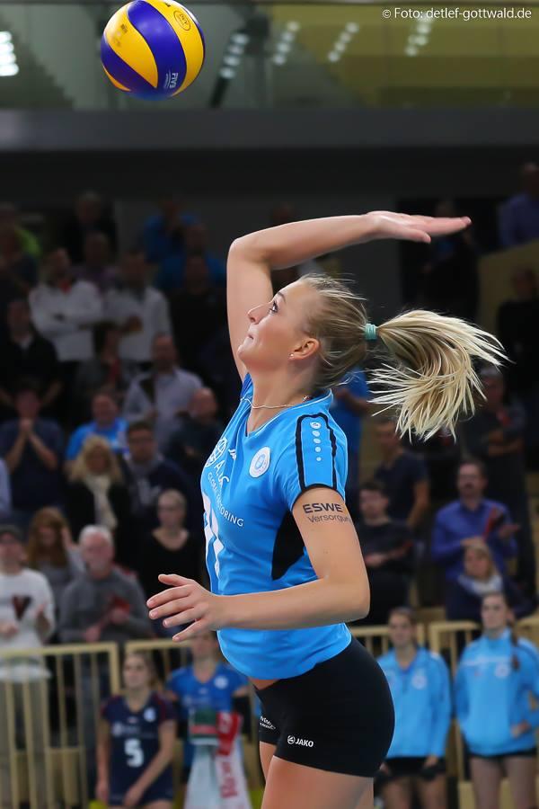Kosova erreichte als Volleyball Profi u.a. Das DVV Pokalfinale