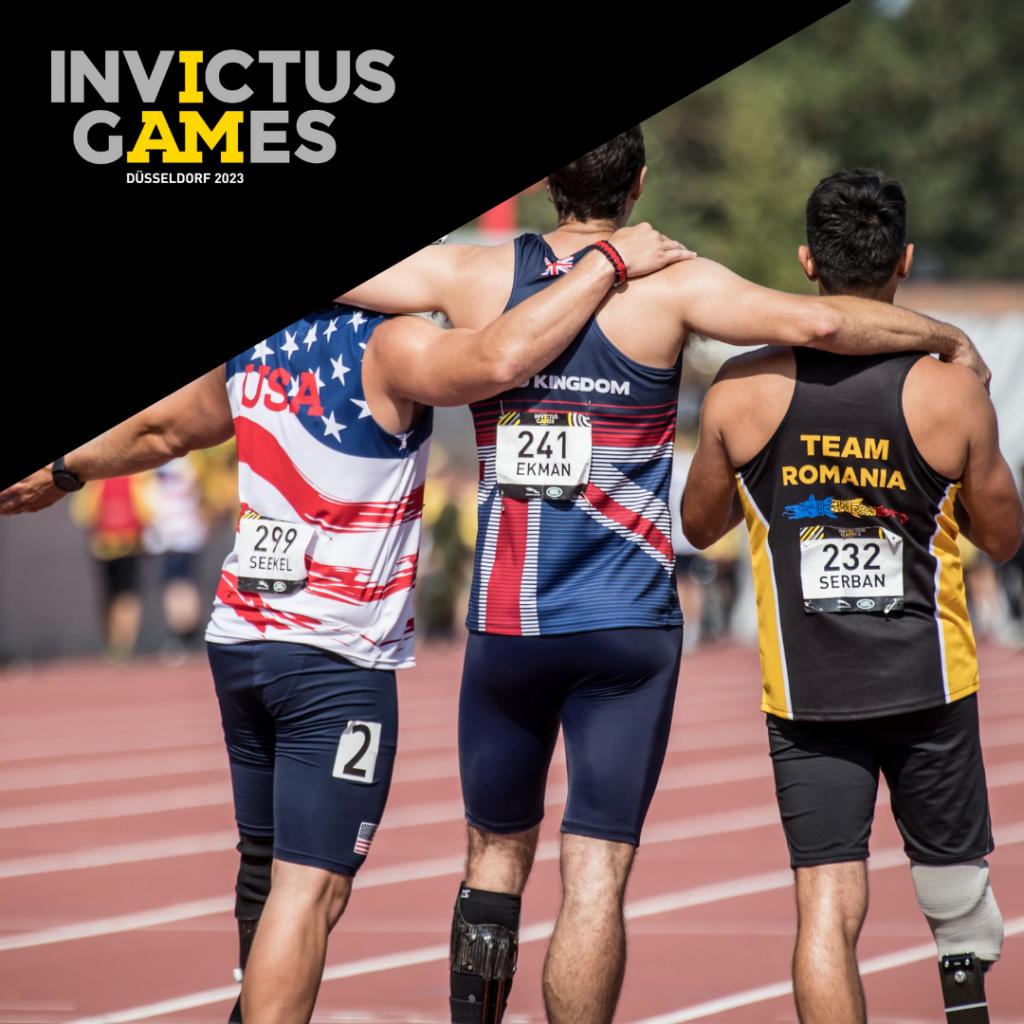 Die Inivctus Games sind ein Sportevent für Kriegsversehrte.